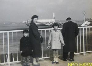 ダグラスDC7C 1974(昭34)前谷康裕 写