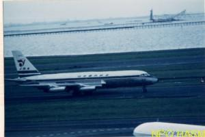 コンベアー880(銀座号)1960年代中頃 渡利斉水 写