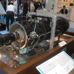ネ20ジェットエンジン(国際航空宇宙博2011) 1945年(昭和20年)8月7日に木更津飛行場で12分間の初飛行に成功した「橘花」に搭載された我国初のジェットエンジン。現在は石川島播磨重工業の資料館に保管。