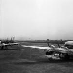 日本航空国内線主力の頃のダグラスDC-6B 1965年(昭和40年)頃。