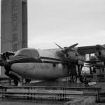ハンドレページHP-104マラソン(旧名古屋空港) 現在の県営名古屋空港ターミナル屋上に展示されていた機体。極東航空が主として西日本方面で使用した2機のうちの1機。ジプシー・クイーン340HP×4、22座席。 1970年。 (今)