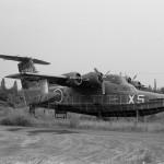 UF-XS(下総基地)グラマン ・アルバトロスを改造して新明和工業が製作した実験用飛行艇。 1970年 (I・N)