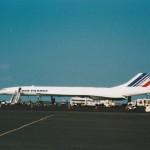 エールフランス航空 コンコルド(ハワイ・コナ島) 今は伝説上の機体となってしまったコンコルド。 1996年