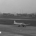日本遊覧航空のデ・ハビランドDH.104ダブ 1955年(昭和35年)代中ごろ。(森)