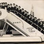 1965年(昭和40年)頃 機体はコンベアCV-880(坂)