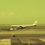 日本航空のダグラスDC-8-61 1974年(昭和49年)。(森)