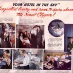 パンアメリカン航空のパンフレット