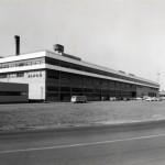 JAMCO(日本航空整備、後に日本航空と合併)の格納庫