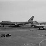 日本航空のボーイングB747 1972年(昭和47年)。(今)
