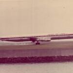 日本航空のダグラスDC-8-61 1976年(昭和51年)頃。(藤)