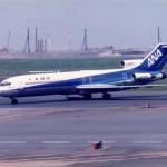 全日空のボーイングB727 1989年(平成元年)。(藤)