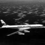 日本航空のダグラスDC-8-30「FUJI号」 日本航空のDC-8 1号機(JALアーカイブス)