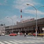 国際線ターミナル 1974年(昭和49年) (空港ビル㈱絵はがき)