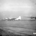 ボーイングB-17爆撃機(米軍) 気象観測機と思われる。(大)
