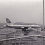 スイスの航空コンベアCV-880 1961年(昭和36年)。(梅)