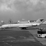 全日空ボーイングのB727 1972年(昭和47年)。(今)
