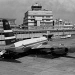 キャセイパシフィック航空ボーイングB707 1972年(昭和47年)。(今)