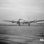 ノースウエスト航空のDC-4と米軍のB-17 ノースウエスト航空はDC-4を使って、国際線を飛んでいた。