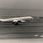 エア・インディアのボーイングB707 1965年(昭和40年)。(坂)