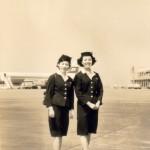 バックは日本航空コンベアー880 1965年(昭和40年)頃。 (坂)