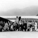 日本航空 ダグラスDC-6B (JALアーカイブス)。