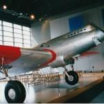 航研機(青森県立三沢航空科学館所蔵・復元機)