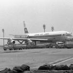 日本航空のダグラスDC-8-30の1号機「FUJI号」