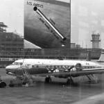フランスのTAI(Transports Aerien Intercontinentaux)航空のDC-6B この機体は引き渡し時に、アメリカのロングビーチからパリのオルリー空港まで、9,179kmを20時間28分で飛行し世界記録を樹立しました